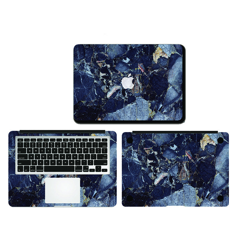 Macbook - Dark Blue Marble