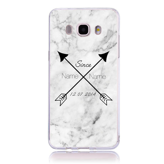 Couple Arrow - Samsung J5   Customised Case