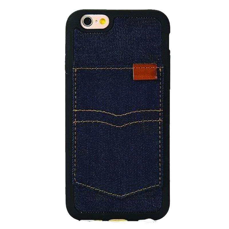 Denim Pocket Dark Blue