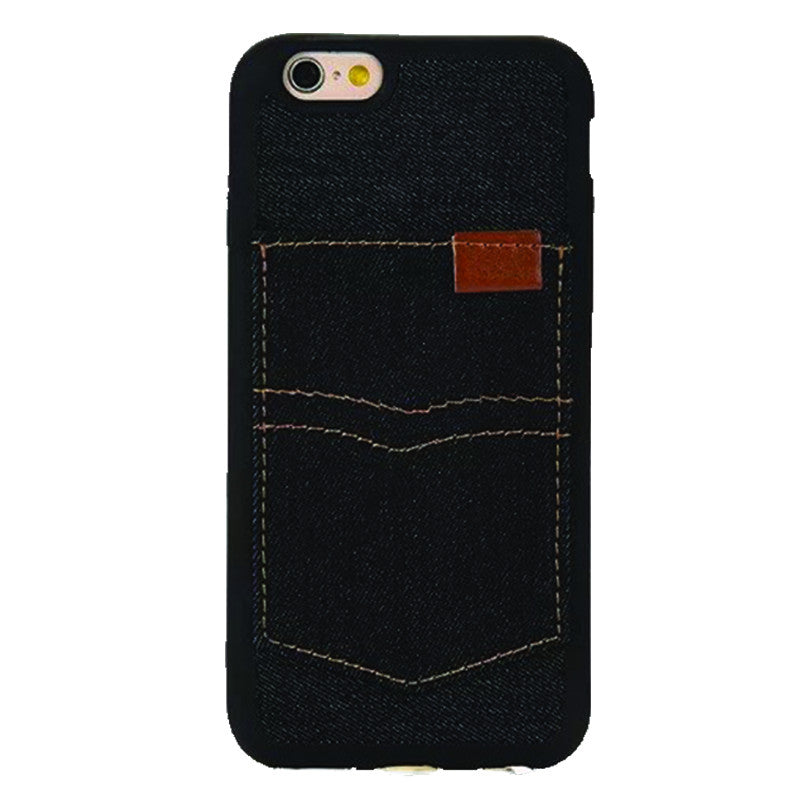 Denim Pocket Blue Black