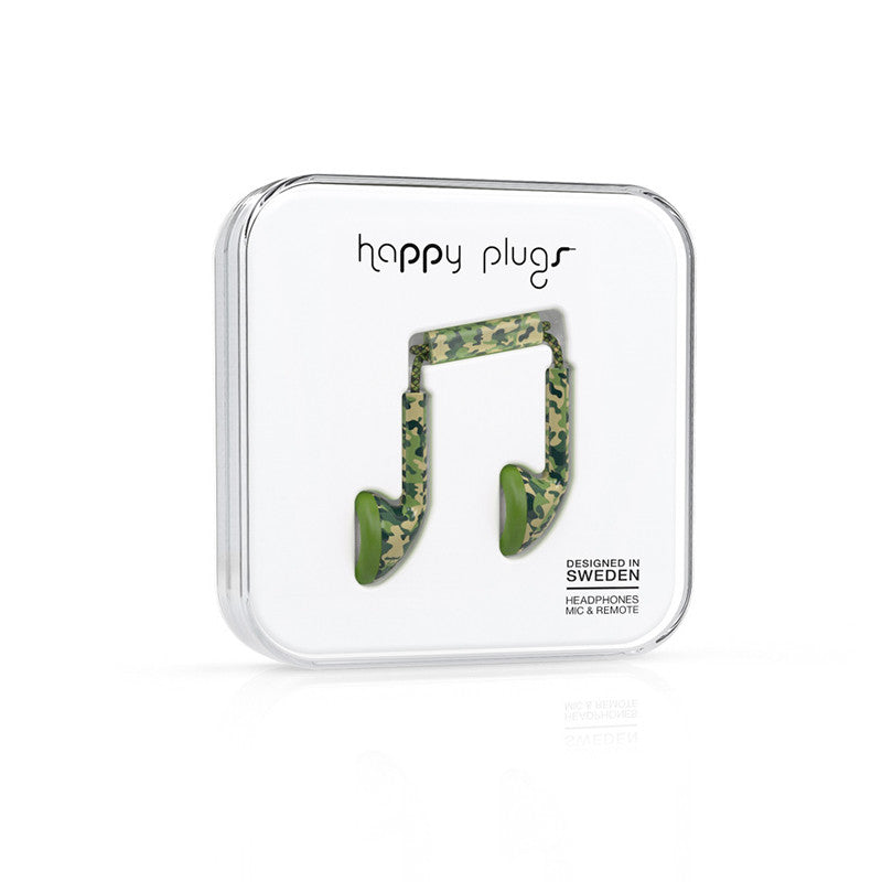 Happy Plugs Earbud Camouflage