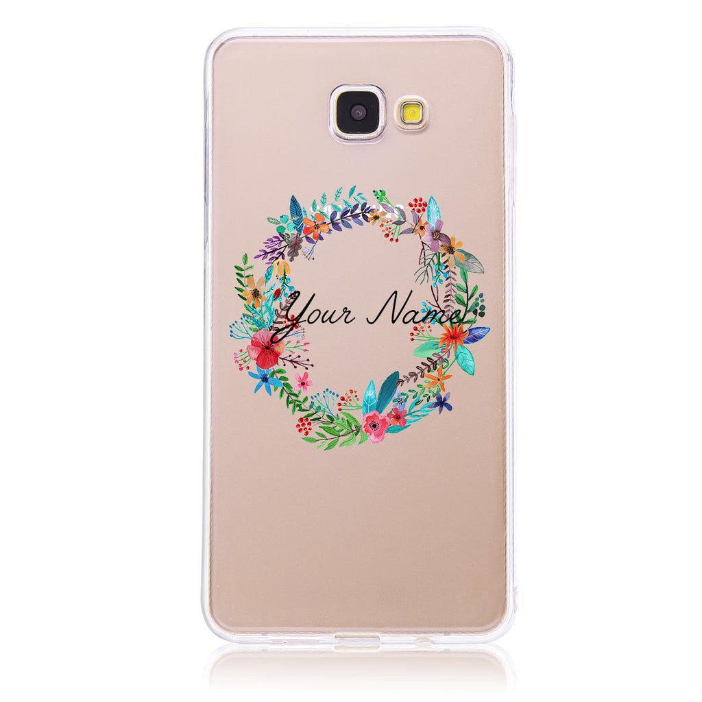 Floral Wreath -Samsung A9 Customised Case