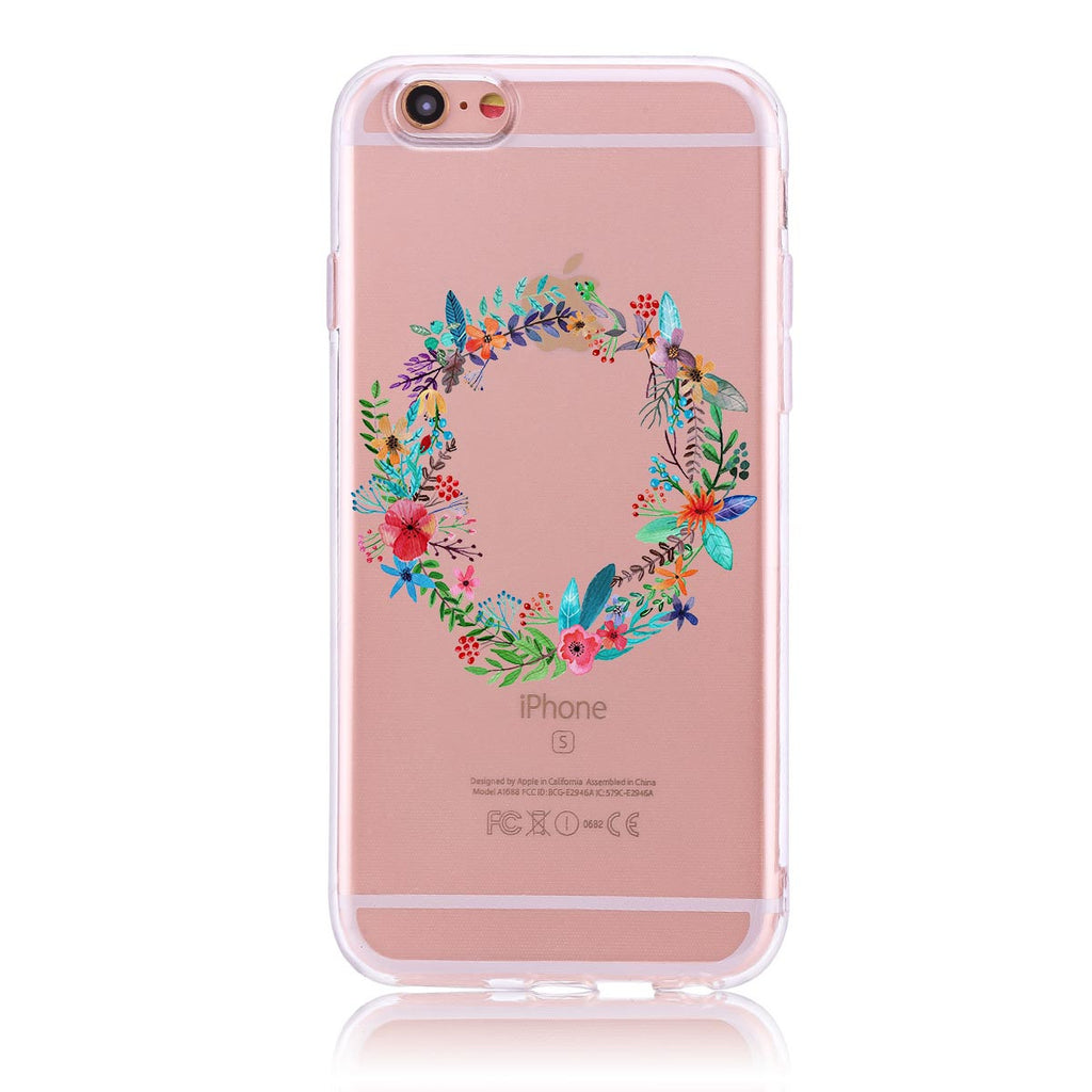 Floral Wreath - iPhone 6/6s Customised Case