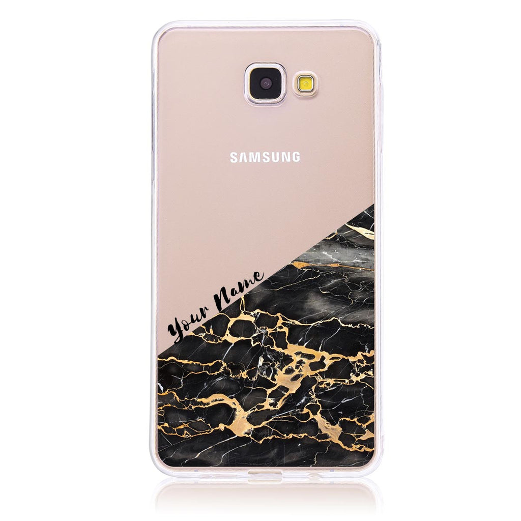 Gold Marble Cut -Samsung A9 Customised Case