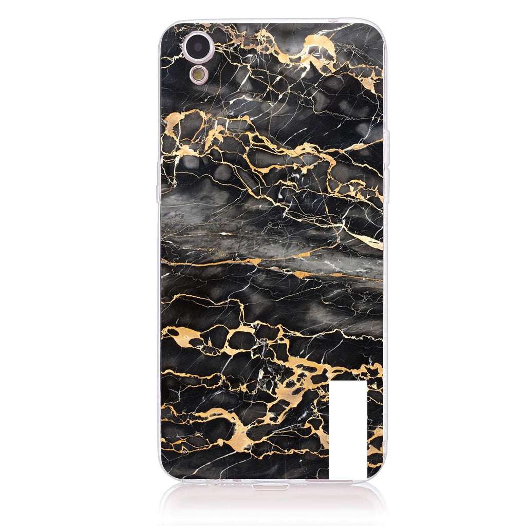 Gold Marble Label-Oppo R9/F1 Plus   Customised Case