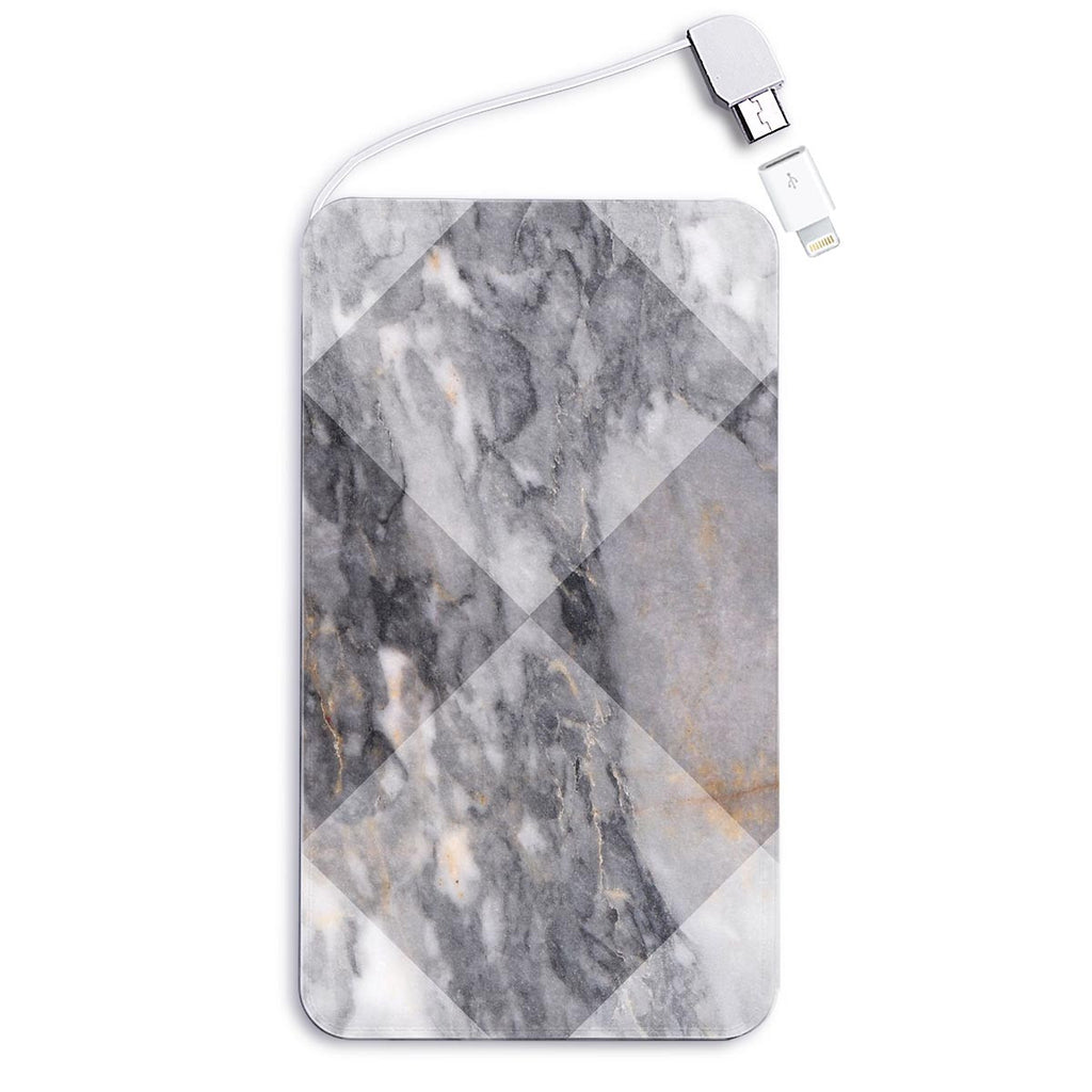 Grey Marble Powerbank