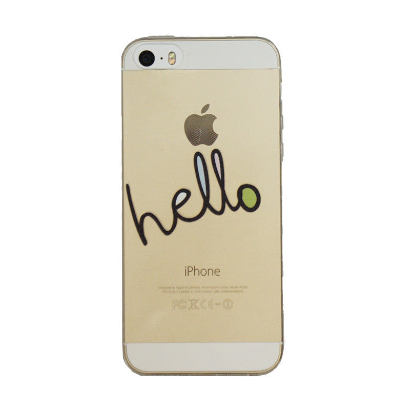 Hello-Phone Case