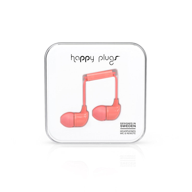 Happy Plugs In-Ear Coral