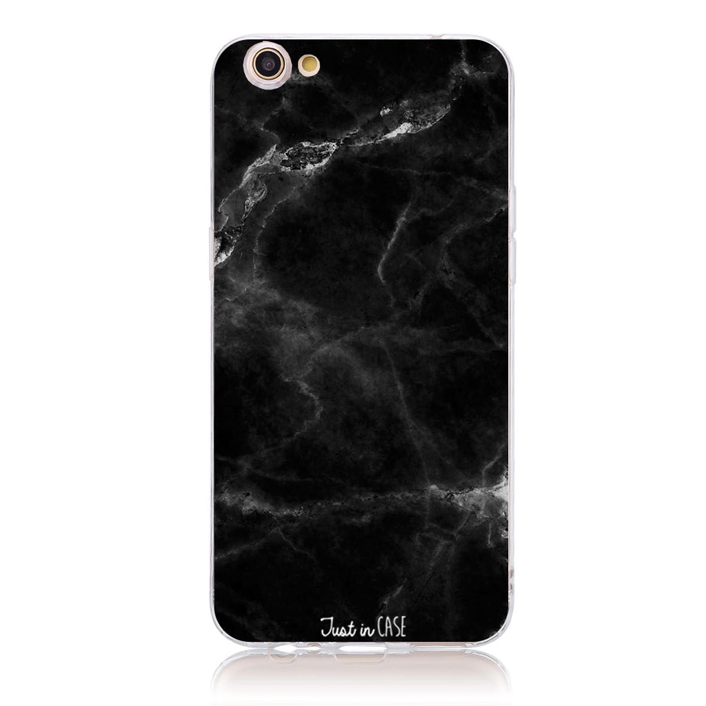 Luxe Black Marble