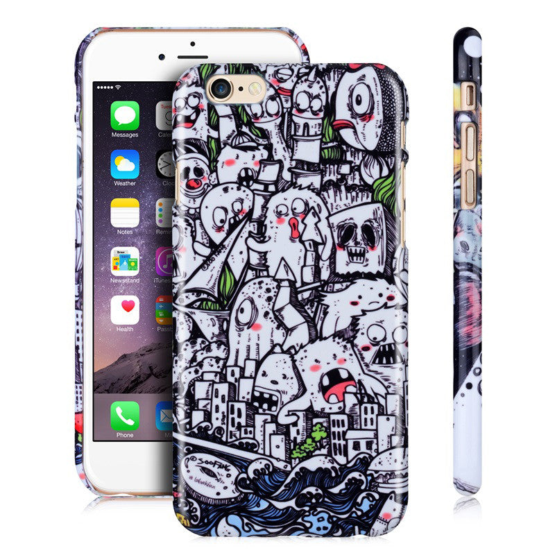 Monster City-Phone Case