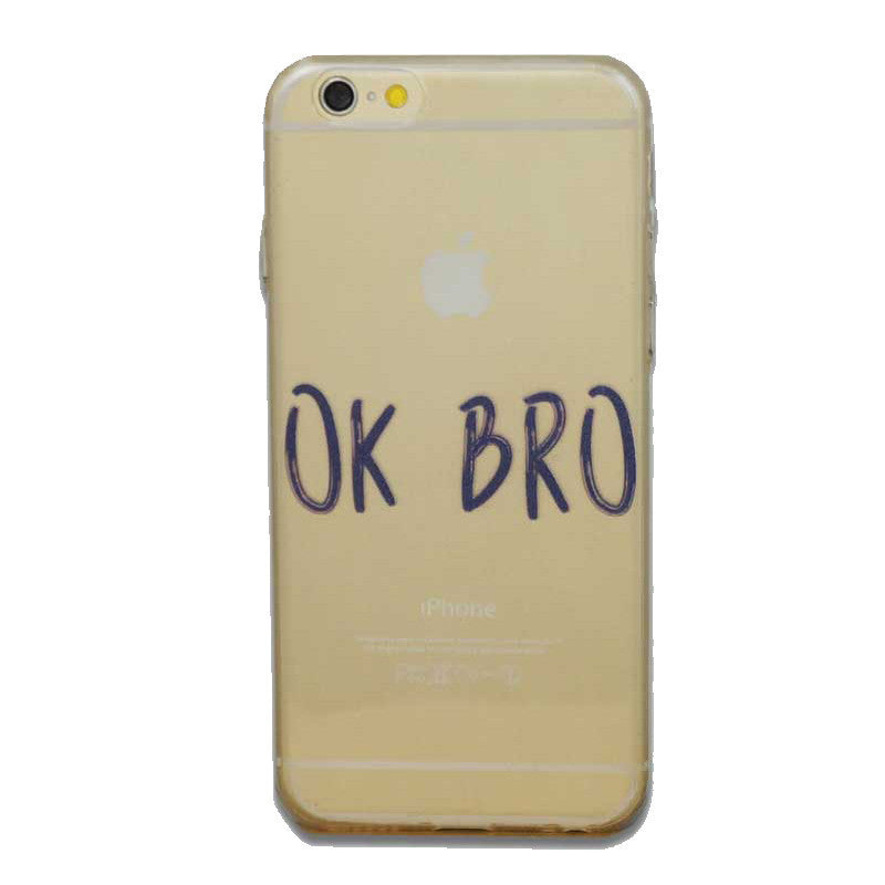 Ok Bro-Phone Case