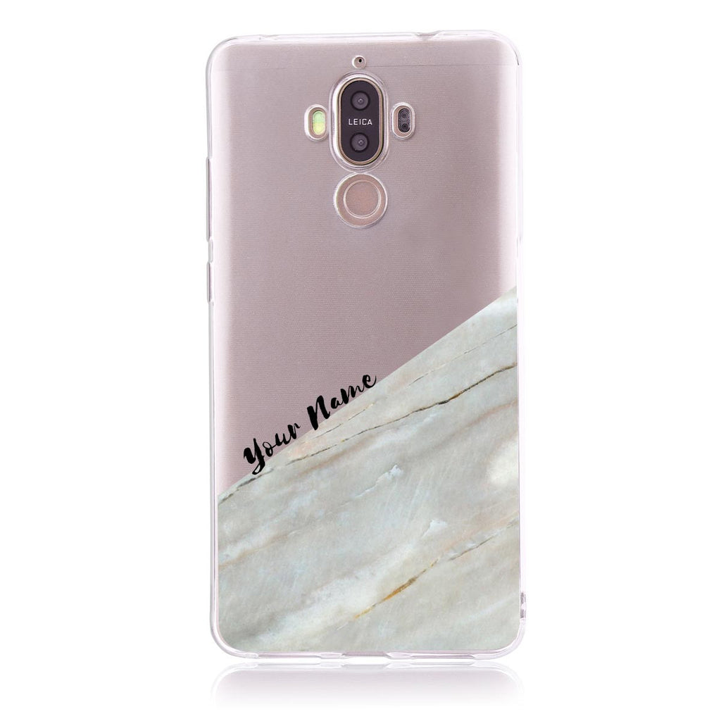 Pink Marble Cut-Huawei Mate 9 Customised Case