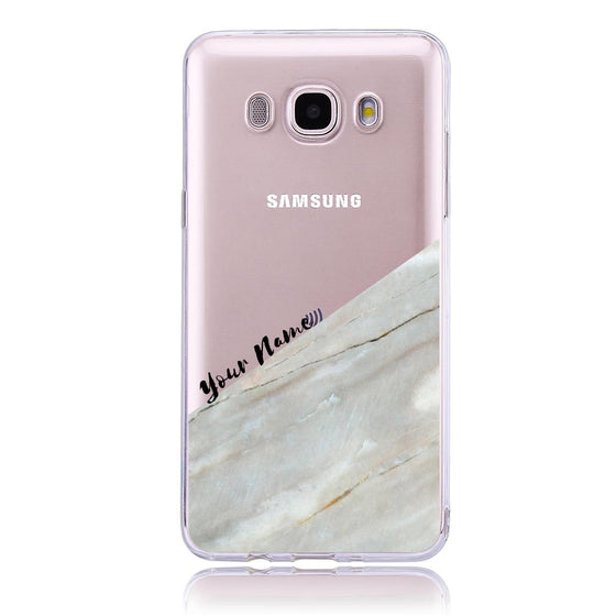Pink Marble Cut- Samsung J5   Customised Case