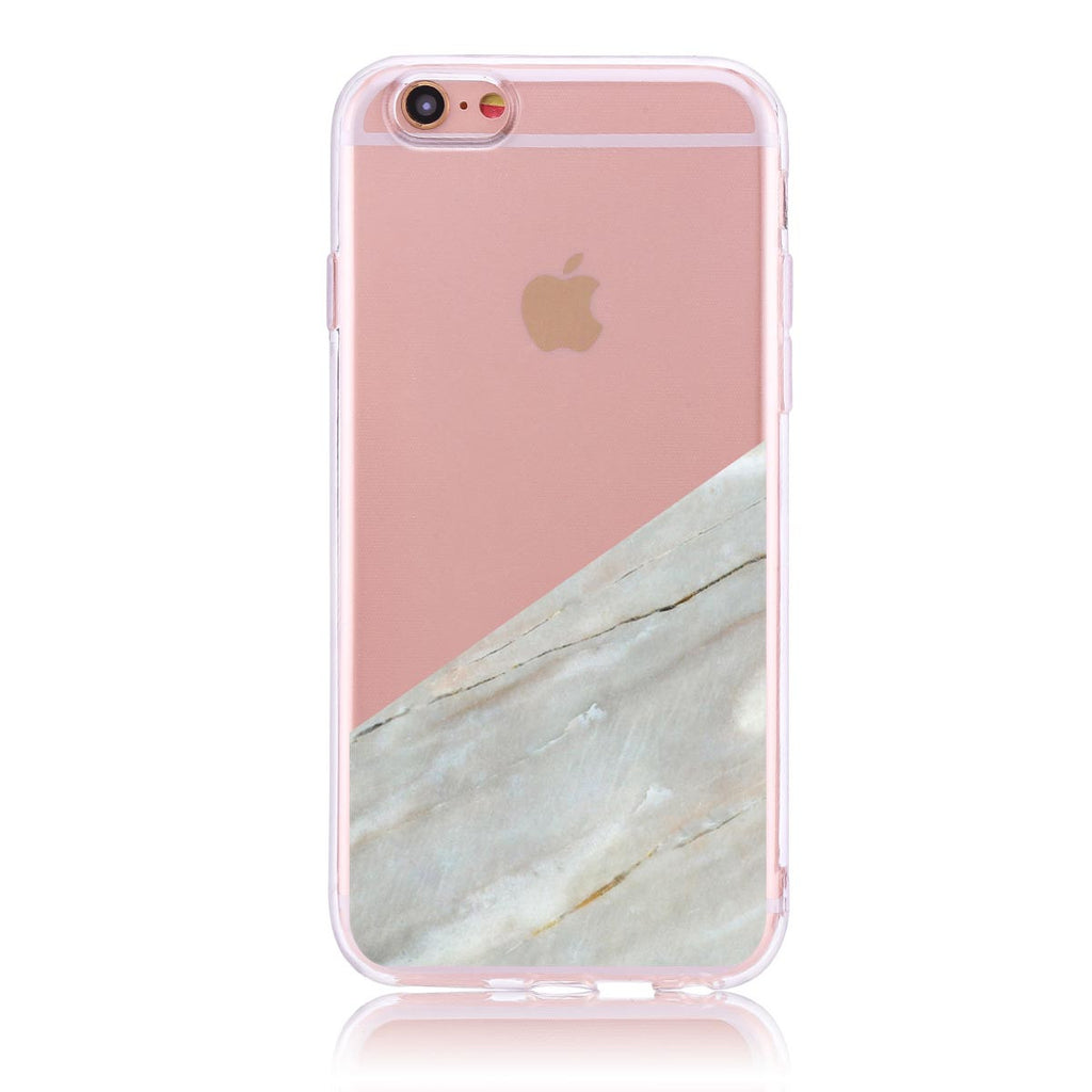Pink Marble Cut- iPhone 6/6s Customised Case