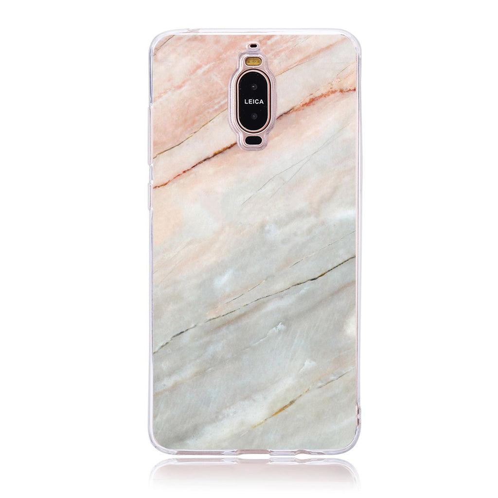 Pink Marble Name-Huawei Mate 9 Pro Customised Case
