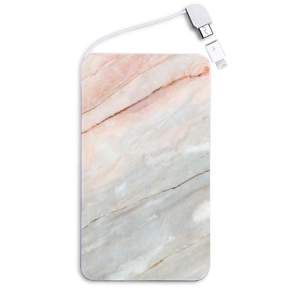 Pink Marble Powerbank