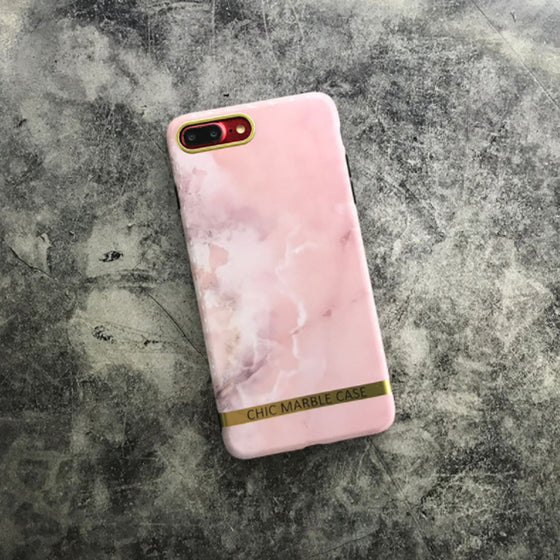 Chic Marble Pink