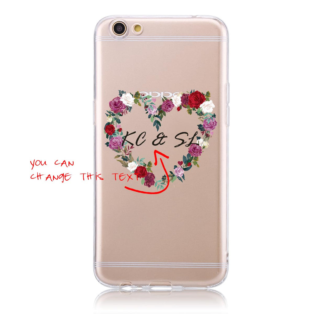 Rose Wreath-Oppo F1s Customised Case