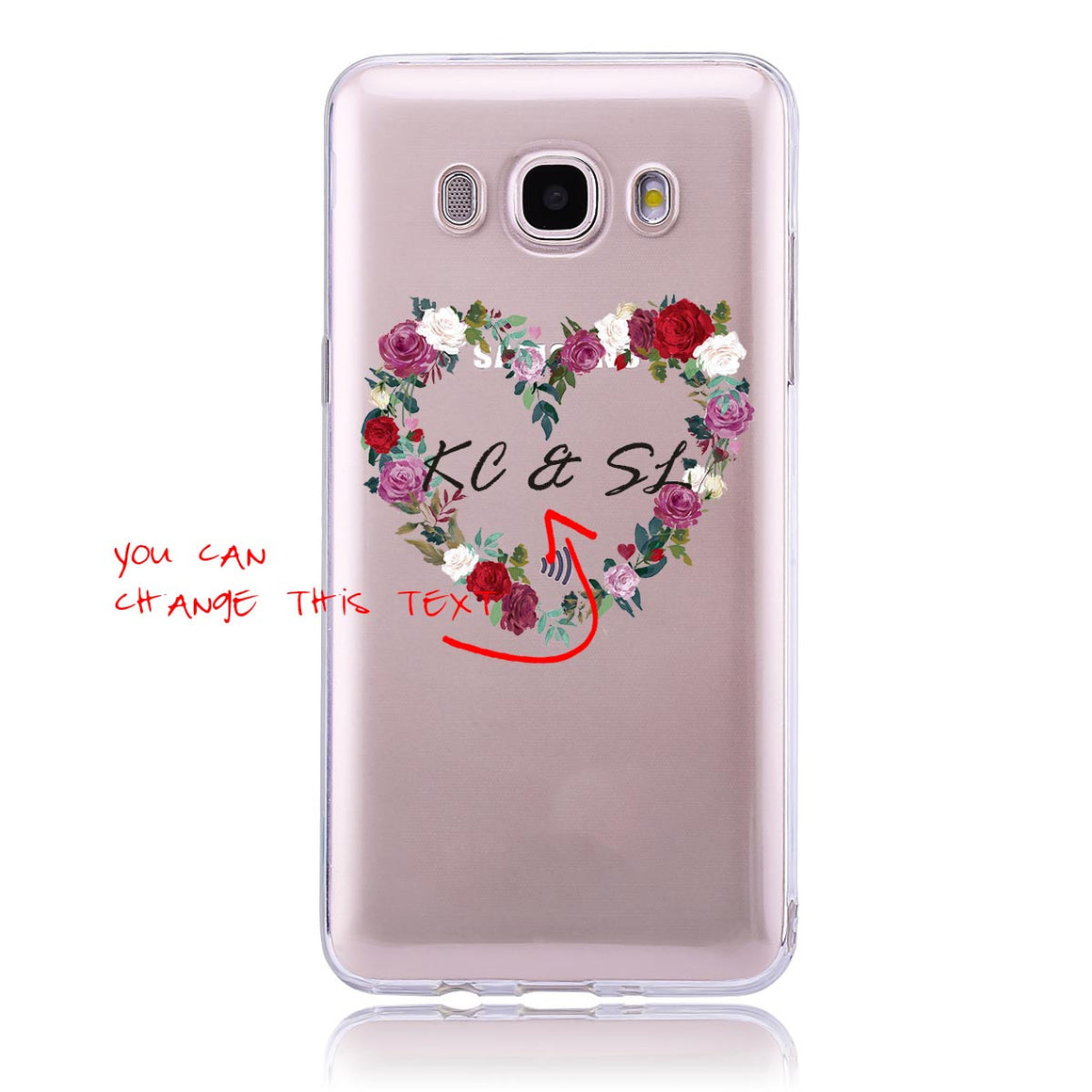 Rose Wreath-Samsung J5   Customised Case