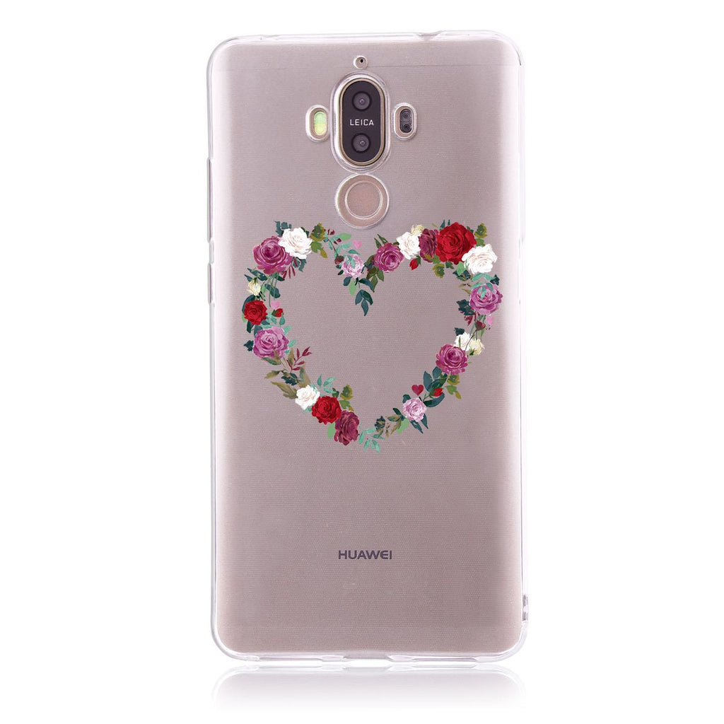 Rose Wreath-Huawei Mate 9  Customised Case