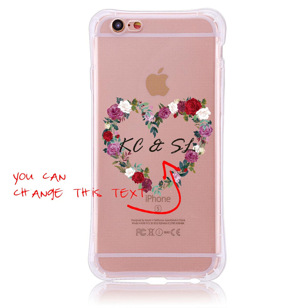 Rose Wreath- iPhone 6/6s Customised Case
