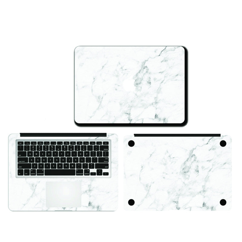 Macbook - White Marble
