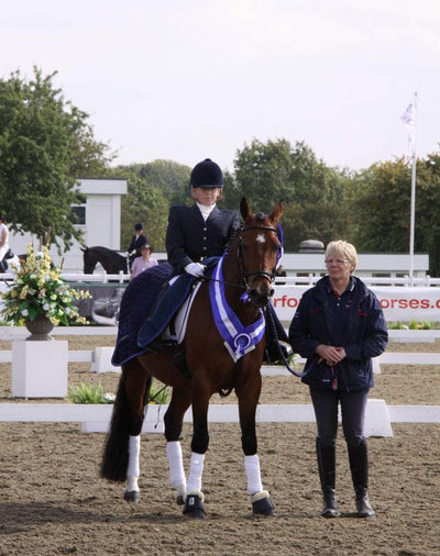 The latest from Para Dressage rider Natalie Povey