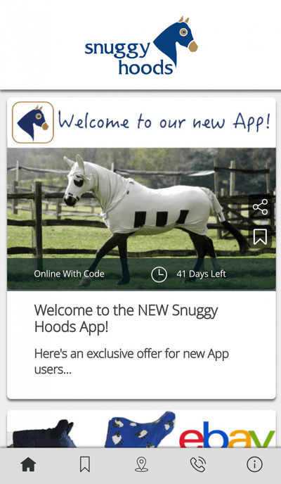 Snuggy Hoods App - Exclusive offers for App Users