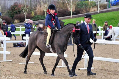 Snuggy Sooty Won and qualified for the Royal International horse show!!!