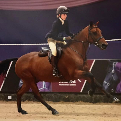 Show & Event Rider Susie Eddis sponsored by Snuggy Hoods Ltd