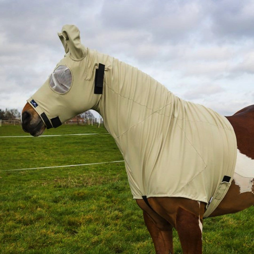 Snuggy Hoods Sweet Itch Hood for Horse & Pony - Protect from midges, flies & UV