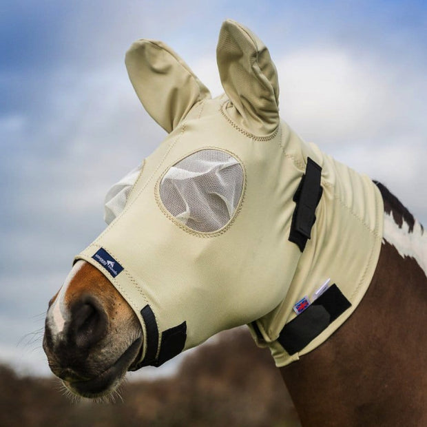 Snuggy Hoods Sweet Itch Mask/Head - Protection from Midges, flies & UV