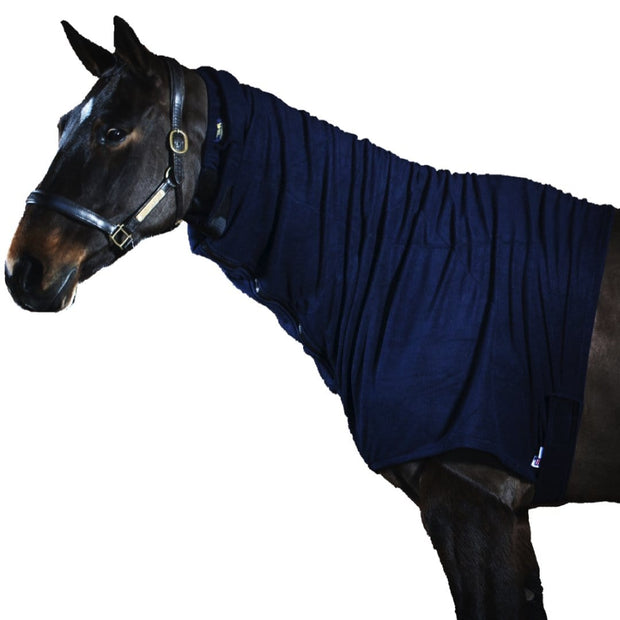 Headless Jams Fleece Stable Horse Hood - 8 Sizes - Additional Stable warmth for your horse by Snuggy Hoods