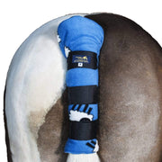 Fleece Horse Tail Guard - Travel Tail Guard for Horse & Pony - Snuggy Hoods