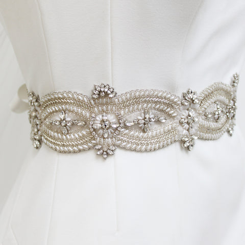 Angelina Belt Silver