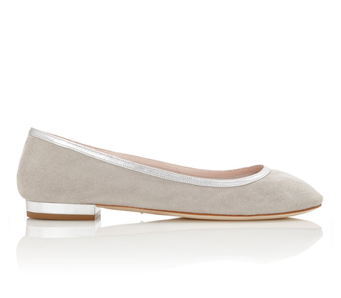 Luxury Suede Pumps Designed in London by Emmy London