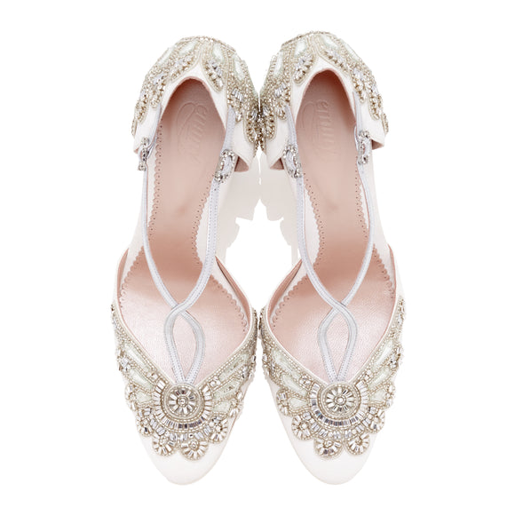 Cecile-Ivory-Designer-Wedding-Shoes-Suede-Beaded-Crystals