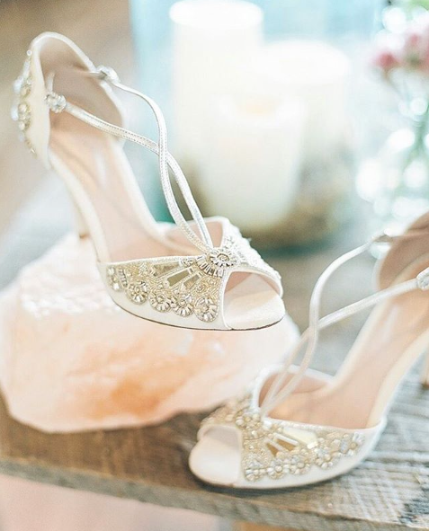 Buy Cinderella Ivory High Heel Wedding Sandal