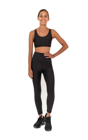 NAOMI HIGH WAIST  LEGGING - BLACK