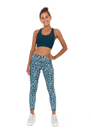 SARA 7/8  LEGGING - GRECIAN JUNGLE