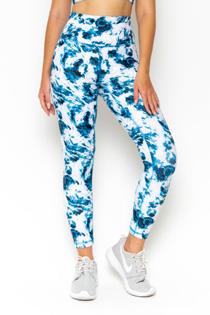 NAOMI HIGH WAIST LEGGING - TIE DYE
