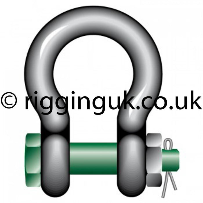 Green Pin Shackles now in stock for next working day delivery!