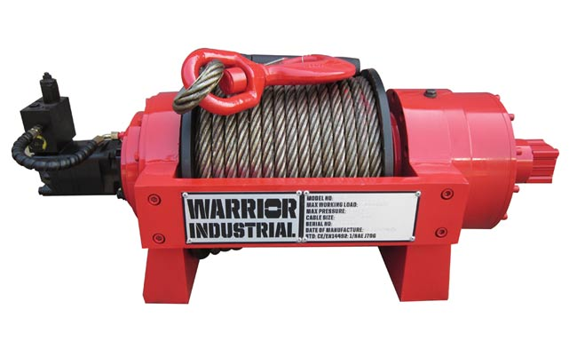 JP 15 Industrial Hydraulic Winch from RiggingUK