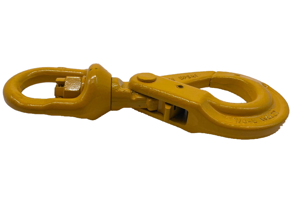 Grade 80 Swivel Auto Lock Hook (285-8) from RiggingUk available next day