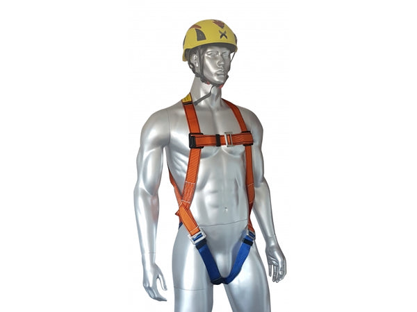 ARESTA STANDARD - Single Point Harness with Standard Buckles front