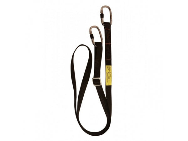 ARESTA MEWP - 2 METER ADJUSTABLE WEBBING LANYARD (Carabiners sold separately)