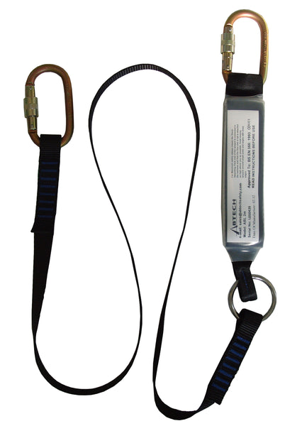 ABL2.0 - Abtech - 2m Shock Absorbing Lanyard c/w KH311 each end (282-3-7)
