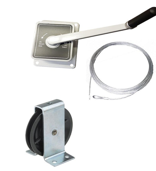 AG45 - Hand Winch- Washing Line Kit A (152-1-6)
