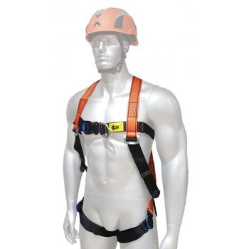 ARESTA SNOWDEN - Double Point Harness with EEZE-KLICK buckles front