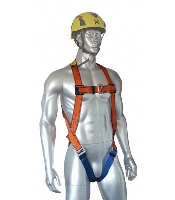 ARESTA SINGLE POINT SAFETY HARNESS WITH STANDARD BUCKLES Ref: 296-51-2